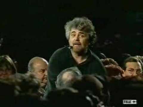 Beppe Grillo spiega il Signoraggio Bancario