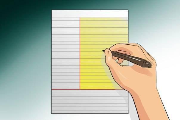 Как записывать лекции по методу Корнелла?В школе нас всех учили писа