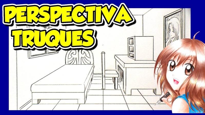 TRUQUES DE PERSPECTIVA - COMO DESENHAR CENÁRIO - 2
