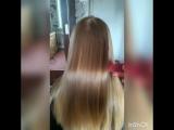 Кератиновое выпрямление и реконструкция волос для Виолетты!!!