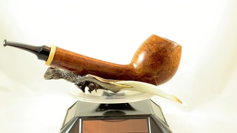 275 new pipe L 150mm 52g chamber 20x39 BRIAR boxwood 🤩Pipe sold. Продана.