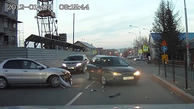 Аварии на ровном месте