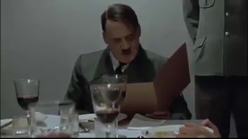 Sooo schlecht dass sich sogar dieser Hitler zu Wort meldet