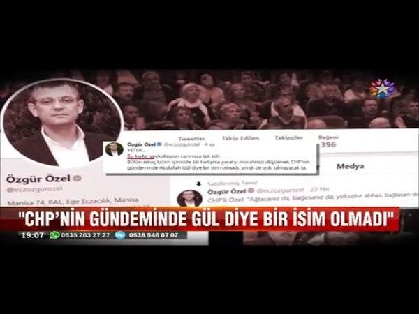 CHP'de Abdullah Gül krizi Özgür Özel Yeter canımıza tak etti
