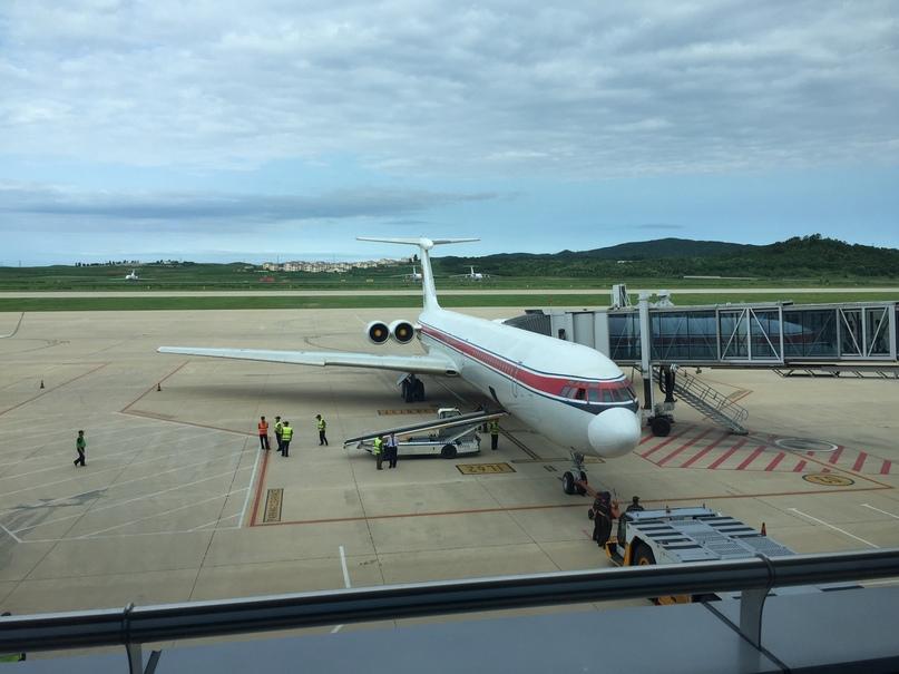 Северная Корея Владивосток. Наш Ил-62, такие летают только в Air Koryo
