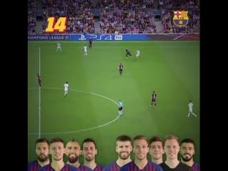 Tik Taka & Hat Trick Messi FCB 2019