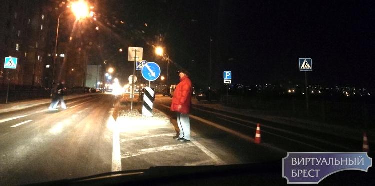 На ул. Сальникова в Бресте на переходе сбили пешехода