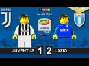 Juventus Lazio 1-2 • Serie A 14/10/2017 Goal Highlights Film Juve Lazio Lego Calcio 2017/18