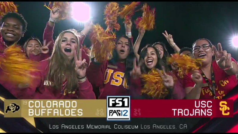 NCAAF 2018 Week 07 19 Colorado Buffaloes USC Trojans 2Н EN