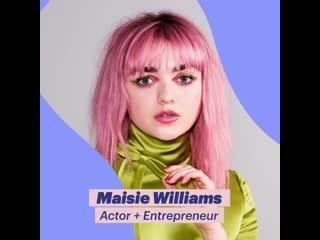 British GLAMOUR_Maisie Williams