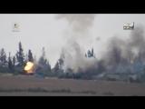 Террористы уничтожили танки Т-55 и Т-62 сирийской армии из ПТРК BGM-71 TOW. ИГИЛ и ПТРК против советских танков.