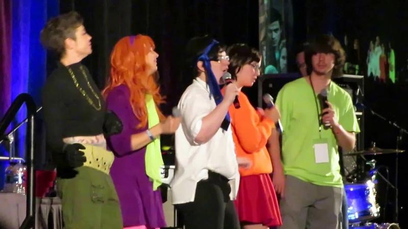Scooby Gang Sings The Time Warp SPN Karaoke (SPNpitt Con 2018)