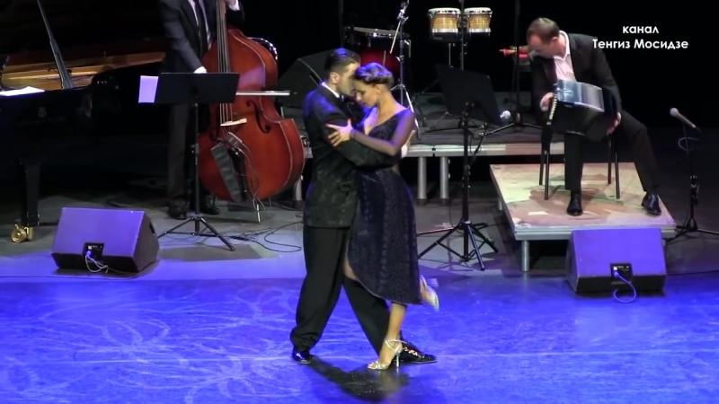 "Tango ""Primavera Portena"". Anna Gudyno Kirill Parshakov with ""Solo Tango Orque"