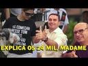 Esquece Lula e fala dos R$ 24 mil, Madame Bolsonaro!