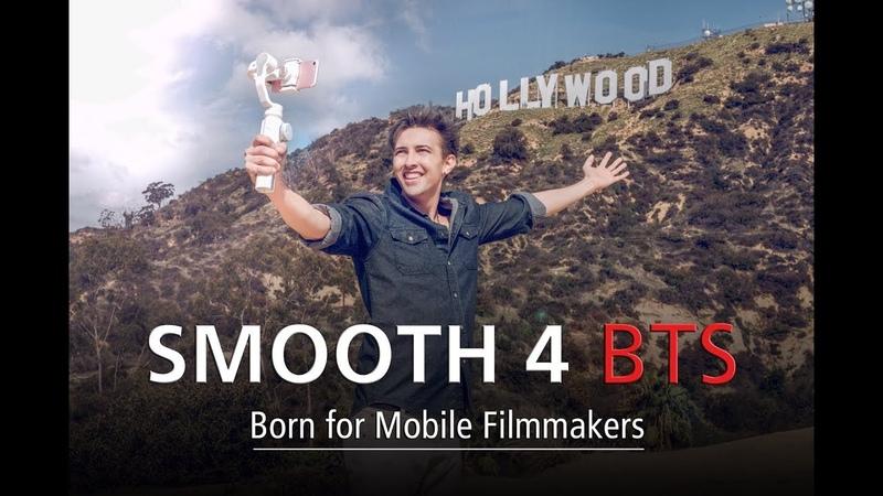 ZHIYUN Smooth 4 TVC Behind The Scenes - Ur Palmtop Hollywood Studio