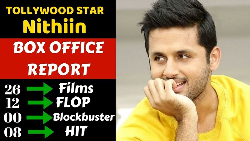 Nithin Reddy Career Box Office Collection Analysis Hit, Blockbuster and Flop Movies List