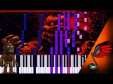 MiatriSs &amp TLT - I Got No Time Remix (Piano Cover by MicroNoize) - Synthesia HD