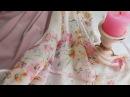 Розовое пальто и платье из шелка