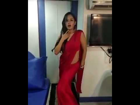 Puja Banerjee hot Dance on Tip Tip Barsha Pani