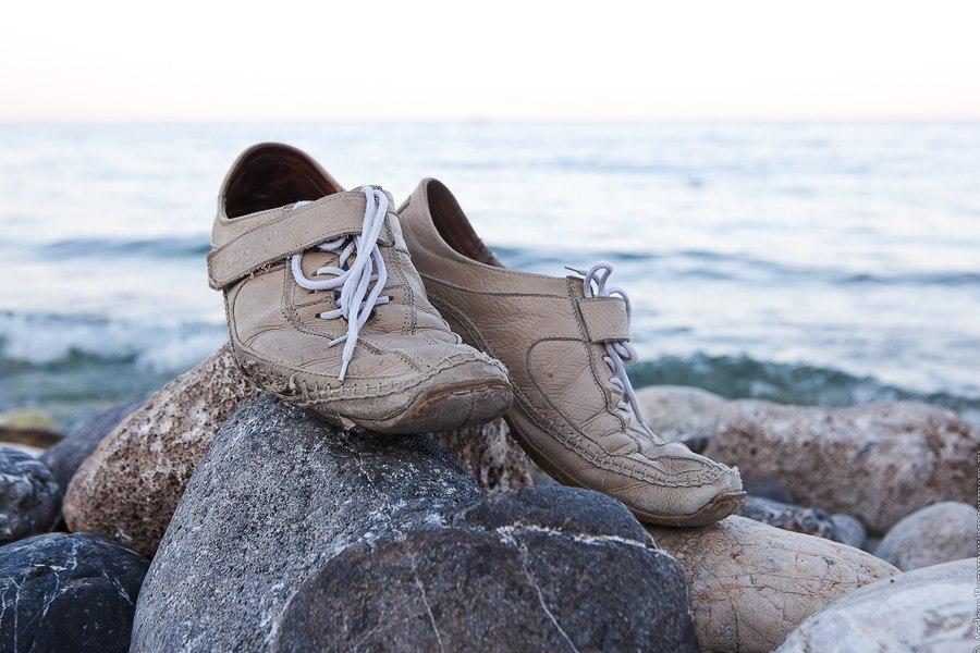 Мои ботинки для прогулок