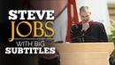 ENGLISH SPEECH STEVE JOBS Stanford Commencement English Subtitles