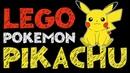 Пикачу Покемон Лего Как сделать Покемона Пикачу Лего Брик Хеадс Pokemon Pikachu Lego