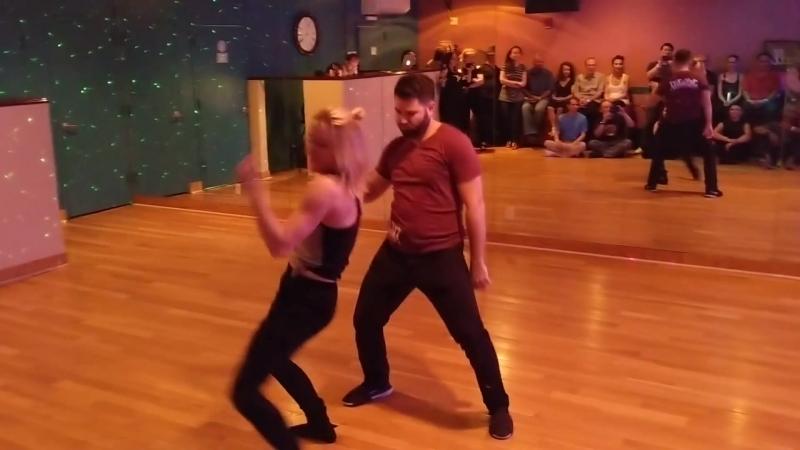 Ben Morris Victoria Henk - Metro Swing 2018 Improv Demo