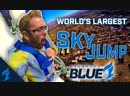 Tallest SkyJump in the WORLD Burning Blue Dallas Fuel