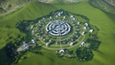 The Venus Project inspired Circular City in Planet Coaster vid 3