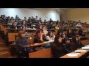 Выступление ученика школы ораторского мастерства SpeakUp