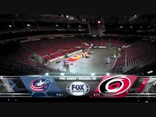 Columbus Blue Jackets vs Carolina Hurricanes - Nov.17, 2018 - Game Highlights - NHL 2018-19 - НХЛ