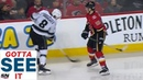 GOTTA SEE IT: Drew Doughty Slashes Matthew Tkachuk While Looking For A Fight