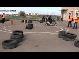 Соревнования скутеристов в Волгодонске
