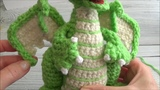 Crochet Along Small But Mighty Dragon Part 23 How To Crochet The Wing' Outline