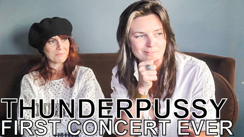 Thunderpussy - FIRST CONCERT EVER Ep. 63