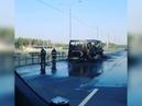 Под Подольском сгорел пассажирский автобус Россия Сегодня