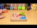Как сделать суши - Миниатюра mini-asmr, ASMR, toy, stopmotion animation StopMotion Miniature toy МиниАСМР MINIASMR Прия
