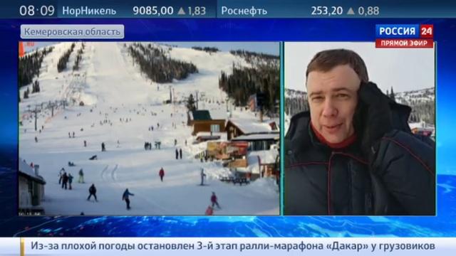 Новости на Россия 24 • Гостеприимные склоны Шерегеша: курорт получит 5 миллиардов рублей на развитие