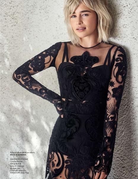 Emilia Clarke Elle France, November 2018