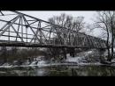 Мост и мельница в Юрятино