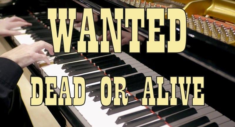 Bon Jovi - Wanted Dead Or Alive - HD Piano Cover play by ear by Fabrizio Spaggiari ♫♫♫
