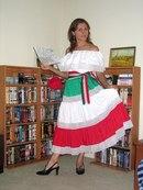 Женский Мексиканский Костюм