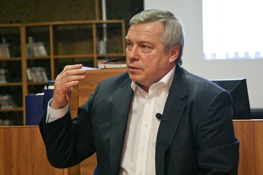 Губернатор Ростовской области поднялся на одну строчку в медиарейтинге губернаторов