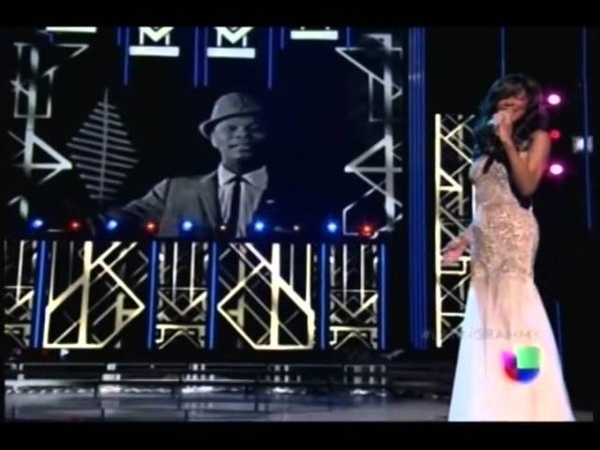 Acércate más Live at Latin Grammys Natalie Cole feat Nat King Cole