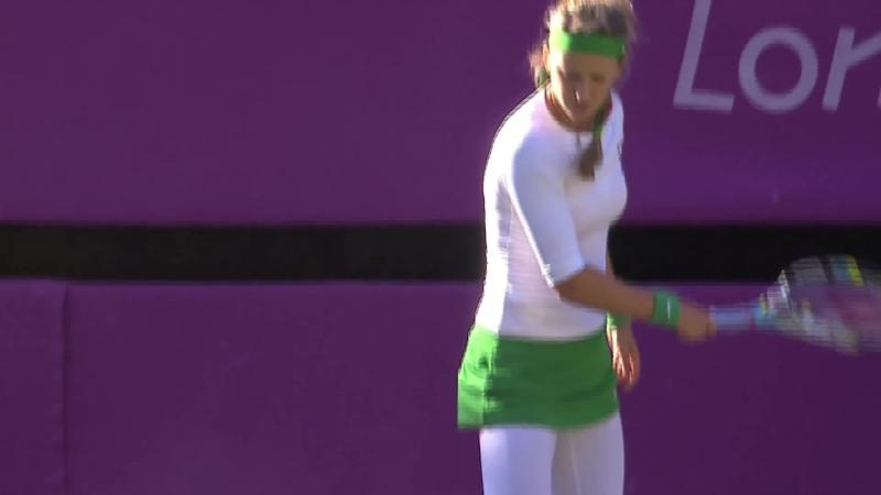 S. Williams (USA) v Azarenka (BLR) Womens Tennis 1st Round Replay - London 2012 Olympics