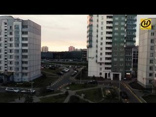 Утренняя суета в Минске