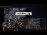 EPICLIVE.GG -  прямые трансляции EPICENTER XL с эмоциями игроков!