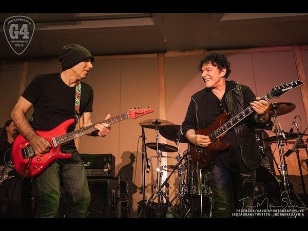Neal Schon Joe Satriani Blues Jam Red House at G4 Experience 1 6 19