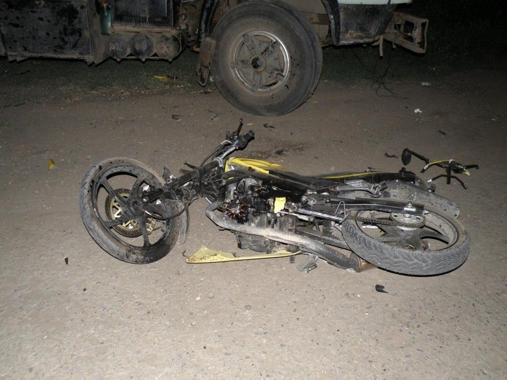 На трассе «Ростов-Таганрог» насмерть разбился 27-летний мотоциклист