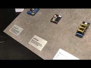 Выставка Securica2018 Стенд компании Ajax #наблюдатель #видеонаблюдение #nabludatel23 #securica2018 #mips2018 #securikamoscow #s